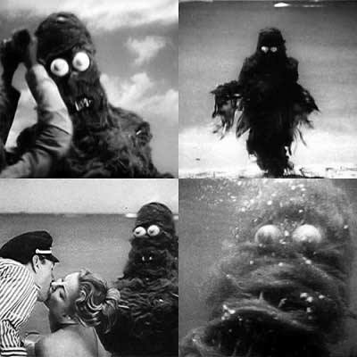 creature from the haunted sea shots