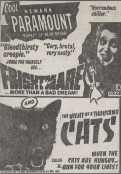 frightmare-night of a thousand cats ad mat2