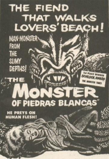 monster of piedras blancas ad mat2