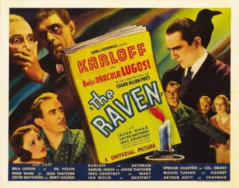 the raven 1935 karloff lugosi poe