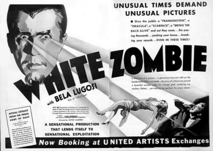 white zombie trade ad