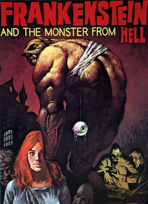 frankenstein and the monster from hell concept art