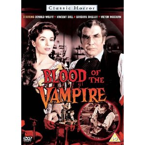 blood of the vampire DVD