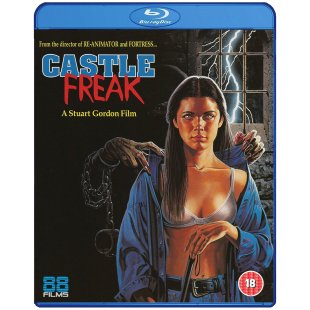 castle freak blu-ray uk