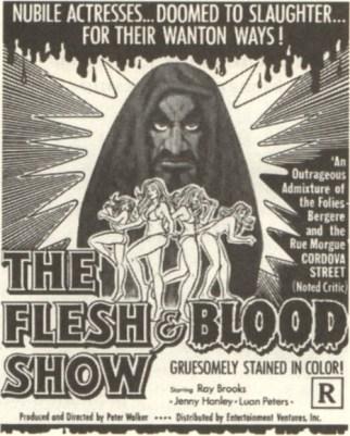 flesh & blood show ad mat2