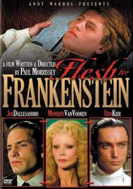 flesh for frankenstin dvd