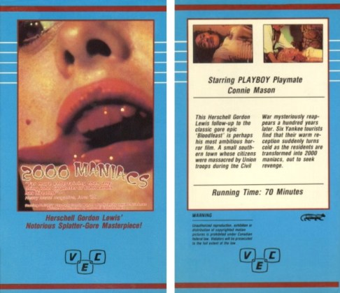 2000 maniacs vhs front & back2