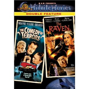 comedy of terrors the raven DVD MGM