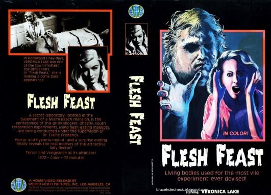 Flesh Feast US World Video VHS
