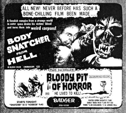 goke body snatcher from hell ad mat courtesy temple of schlock