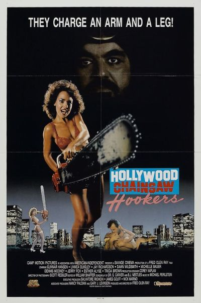 Hollywood chainsaw poster