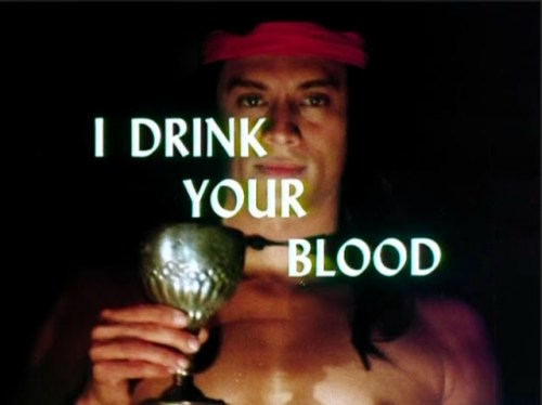 I drink your blood title