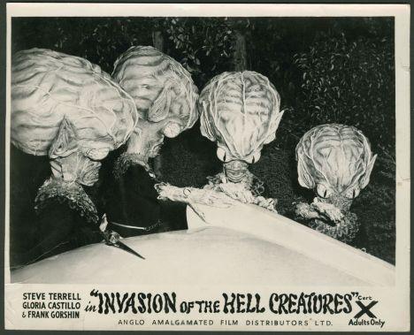 invasion of the hell creatures british cert X still