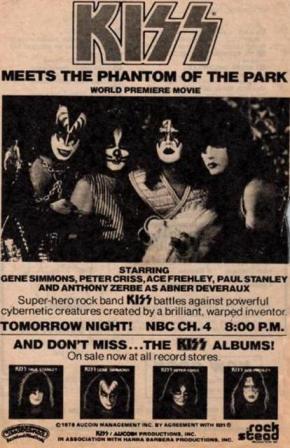 Kiss Phantom Ad
