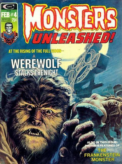 monsters unleashed issue 4 werewolf