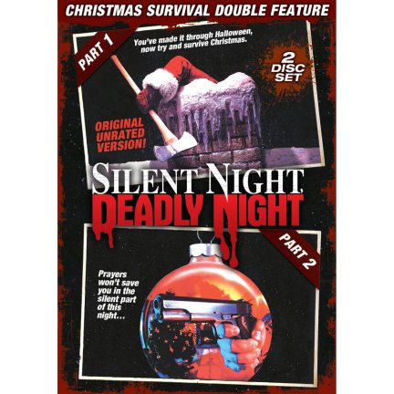 silent night deadly night 1 and 2 DVD