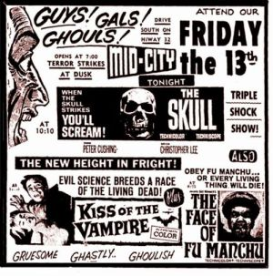 the skull 1965 ad mat