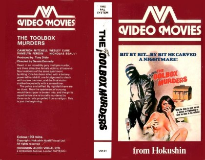 Toolbox Murders VHS