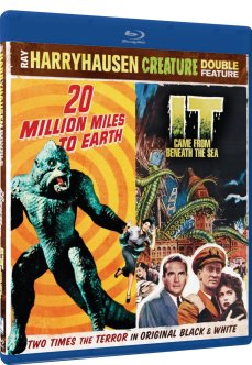 20 Million Miles to Earth + It Came from Beneath the Sea Ray Harryhausen Blu-ray