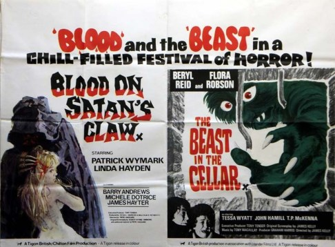 blood on satan's claw + beast in the cellar