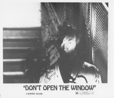 don't open the window
