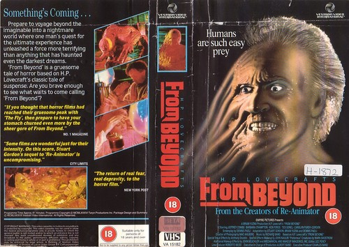 from beyond vhs