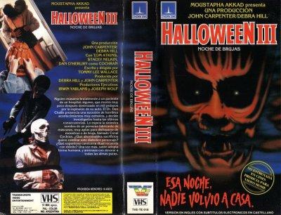 halloween 3 vhs