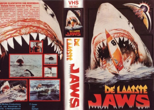 last jaws dutch vhs front & back2