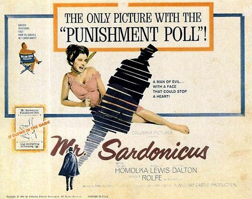Mr Sardonicus poster