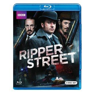 ripper street BBC blu-ray 3 disc set