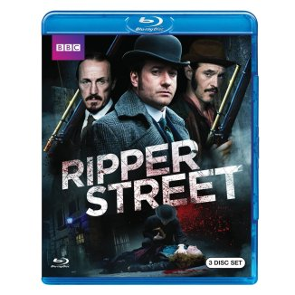 ripper street BBC blu-ray 3 disc set