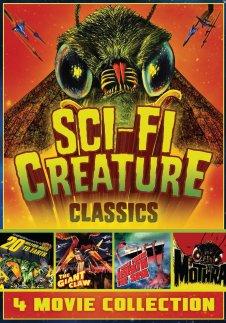 sci-fi creature classics dvd