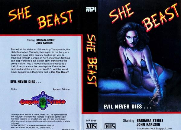 She Beast US Gorgon Video MPI VHS