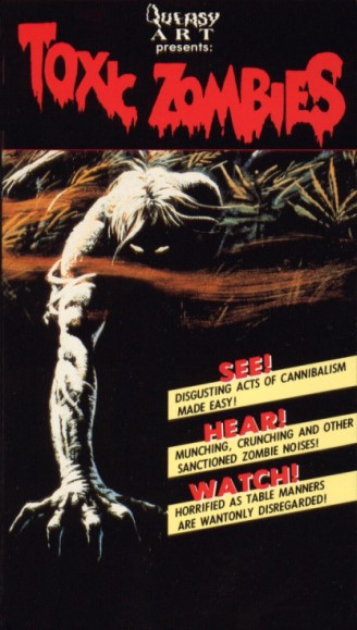 toxic zombies bloodeaters vhs