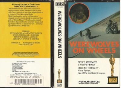 werewolves vhs