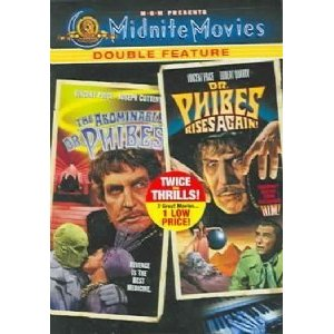 abominable dr phibes phibes rises again dvd