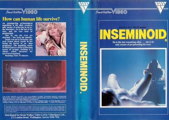 inseminoid vhs