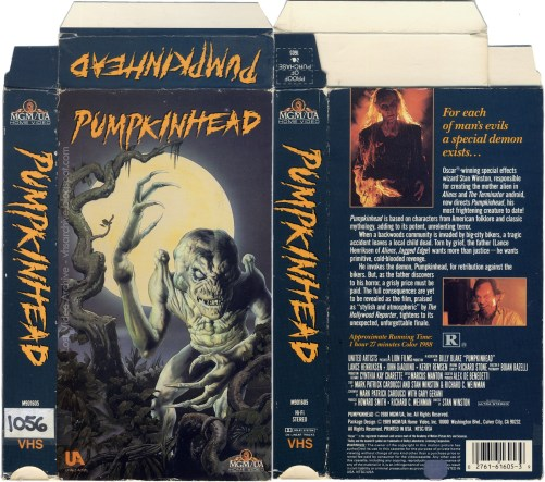 Pumpkinhead VHS box