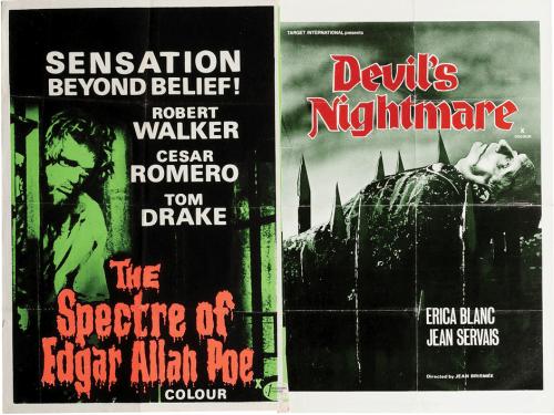 The-Spectre-of-Edgar-Allan-Poe-Devil's-Nightmare-British-quad-poster