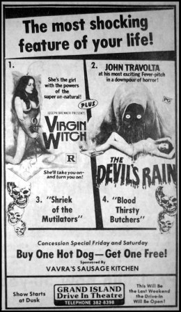 virgin-witch-devils-rain-shriek-of-the-mutilators-blood-thirsty-butchers-drive-in-ad-mat