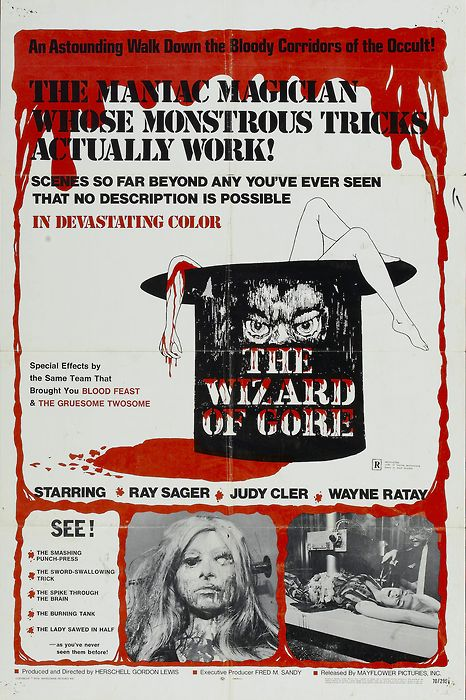 wizarg of gore poster