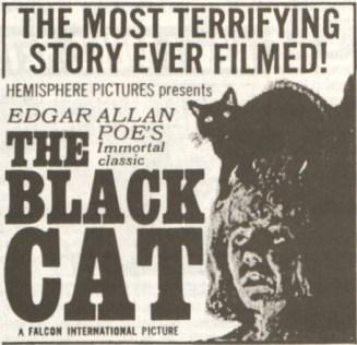 Black Cat 1966 Ad Mat