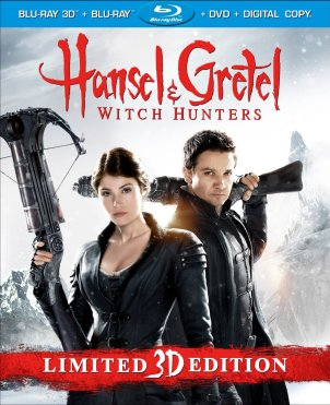hansel & gretel witch hunters blu-ray
