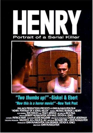 henry portrait of a serial killer 1986 movie poster