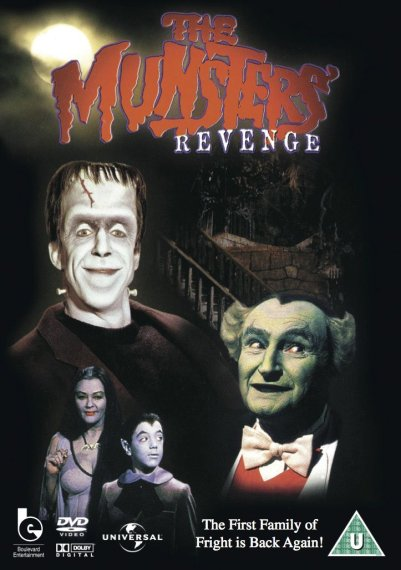 munsters revenge dvd