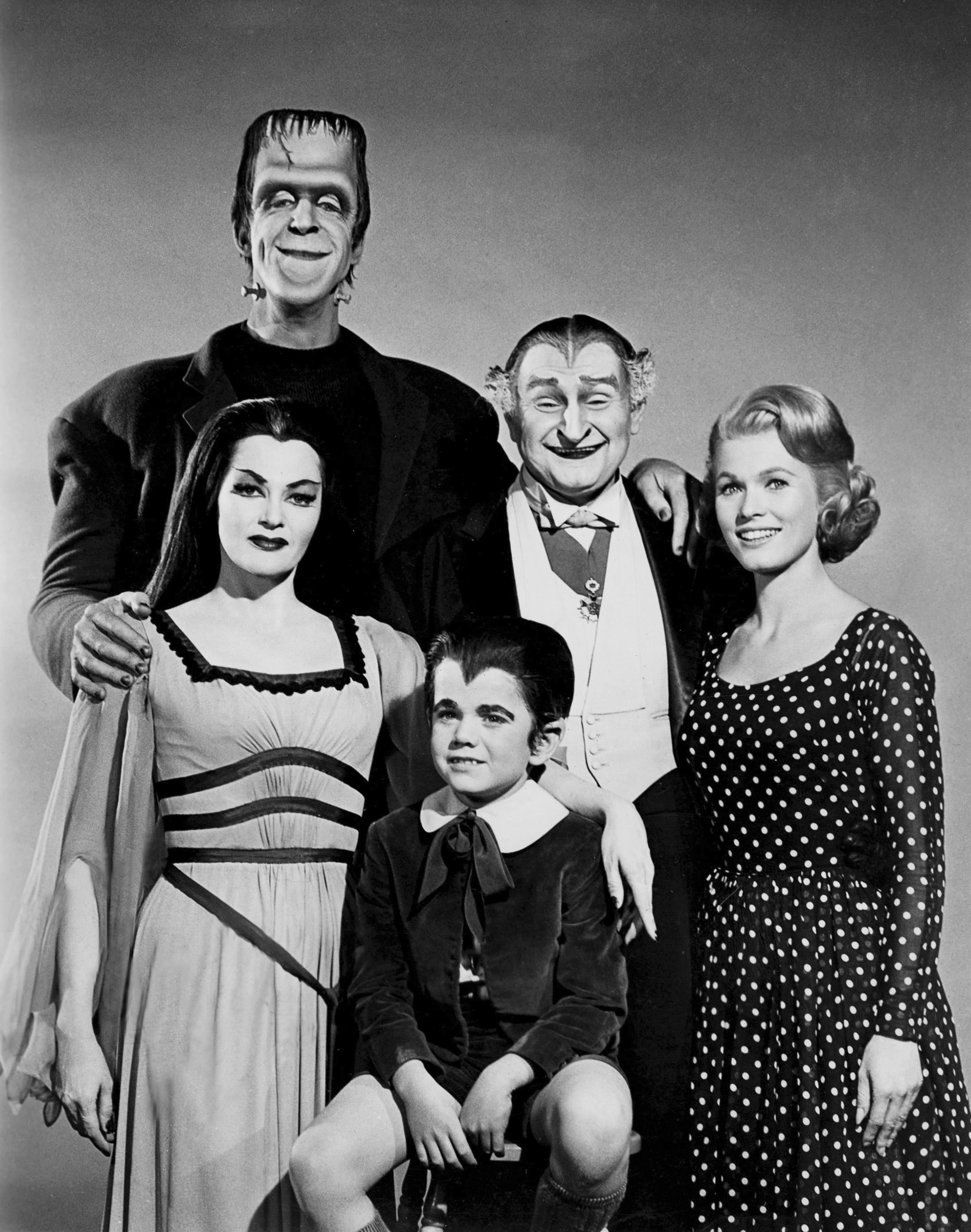 The Munsters Tv Series Movies Spin Offs And Merchandise Article Movies And Mania