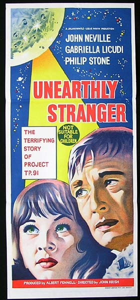unearthly stranger tall poster