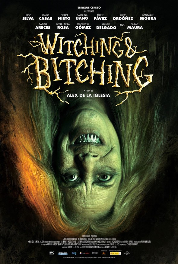 witching & bitching poster