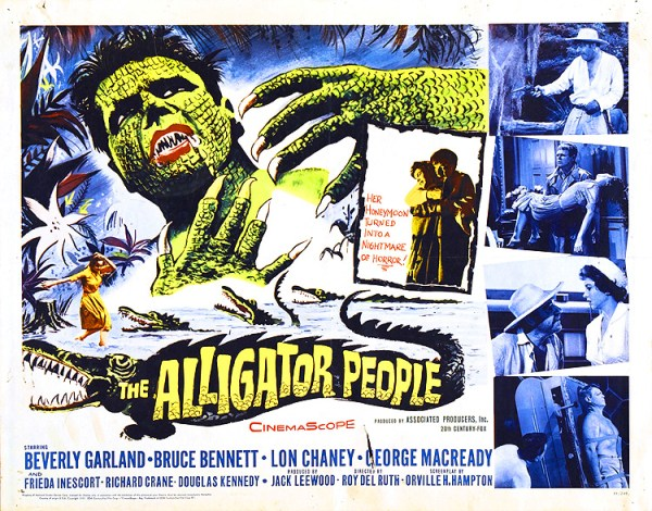 alligator people poster