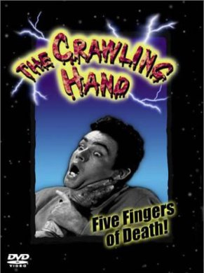 crawling hand dvd cover